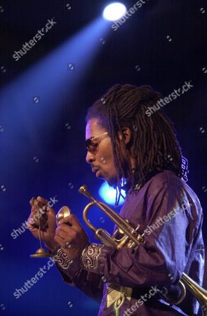 Texas-born Trumpeter and Leader of the Rh Factor Group Roy Hargrove Performs at the Vitoria's Jazz Festival in the Basque City of Vitoria Northern Spain Late Wednesday 16 July 2003 Epa Photo/efe/gorka Ayestaran Epa Photo/efe/gorka Ayestaran Spain Vitoria