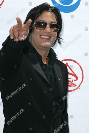 Dominican Singer Andy Andy Nominated in the Category of 'Best Contemporary Tropical Album' Arrives at the 5th Annual Latin Grammy Awards at the Shrine Auditorium in Los Angeles California Wednesday September 01 2004 United States Los Angeles