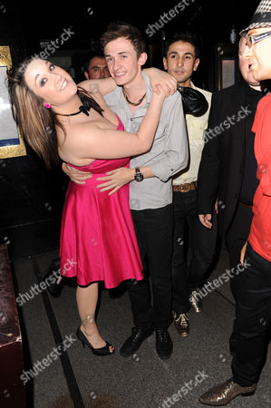 Big Brother lovers Rebecca Shiner and Luke Marsden.