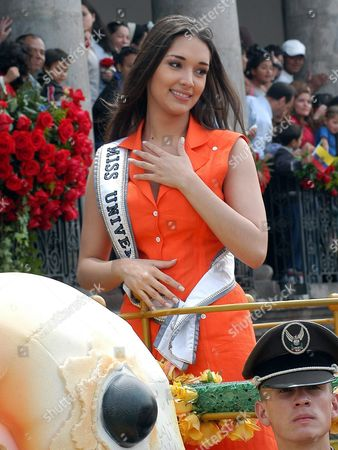 Editorial image of Ecuador - Miss Universe - Parade - May 2004