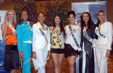 Editorial picture of Ecuador Miss Universe - May 2004