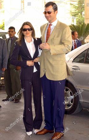 Editorial image of Jordan - Princes of Asturias in the Jordanian Royal Wedding - May 2004