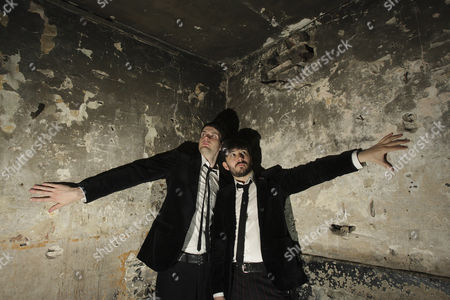 Magicians, Stuart MacLeod and Barry Jones, whose show 'Barry   Stuart' is at the Edinburgh Festival.