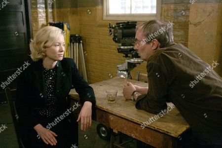 'Pierrepoint'  TV - 2008 -   Director Adrian Shergold talks to Mary Stockley who plays Ruth Ellis.