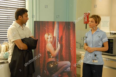 'The Royal Today'   TV Pictured: Student Nurse Gemma Pennant (Sophia Di Martino) and Vjay Chobhan (Pal Aron)