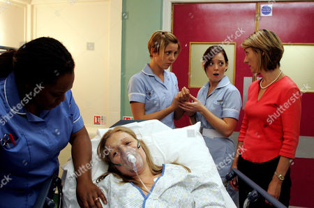 'The Royal Today'   TV Pictured: Nurse Pearl McDonald (Lisa Davina Phillip), Student Nurse Gemma Pennant (Sophia Di Martino), Carrie Jepson (Lucie Trickett), Emma Jeffreys (Christine Mackie), and Zoe Jeffreys (Laura Parkes)