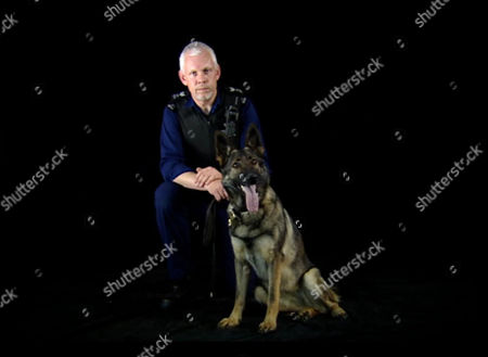 'Send in the Dogs'   TV   Documentary Picture Shows: Peter Madden and Brodie