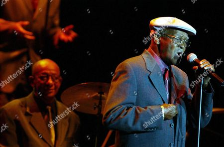 Cuban Singer Ibrahim Ferrer Performs During a Concert Attended by 1 500 People at a Hotel Auditorium in Lima Peru on Sunday 13 June 2004 the Concert Titled 'Buenos Hermanos' ('good Brothers') Opened Ferrer's and Buena Vista Social Club Band Tour Through South America Peru Lima