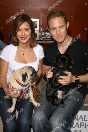 Jacqueline Pinol and Gracie, Johnny Blu and Zeus