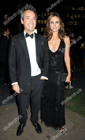 Henry Dent Brocklehurst and Elizabeth Hurley