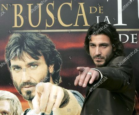Italian Actor Daniele Liotti Poses For Photographer As He Presents His Lastest Film 'The Final Inquiry' on Monday 02 April 2007 in Madrid Spain in 35 a D Roman Emperor Tiberius Sends His Loyal Roman Officer Taurus to Search Jesus Christ's Body to Refute the Resurrection of Jesus of Nasareth Spain Madrid