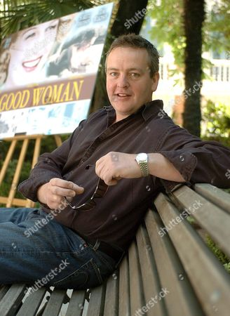 British Film Director Mike Barker Poses For Photographers in Madrid on Tuesday 07 June 2005 where He Has Presented His Latest Movie 'A Good Woman' This Movie is Based on Oscar Wilde's Play 'Lady Windermere's Fan' Spain Madrid