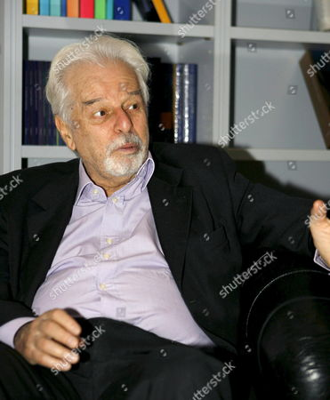 Chilean Alejandro Jodorowsky who is Poet Novelist Film and Theater Director and Therapist Presents His Book 'The Carnivorous Yearnings of the Void' on Monday 13 November 2006 in Madrid Spain Spain Madrid