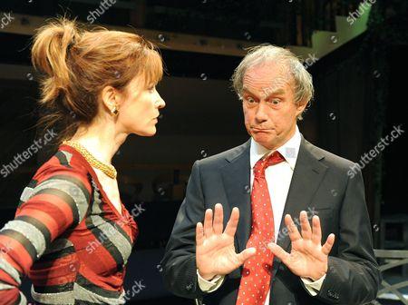 Carolyn Backhouse ( Irena )  Geoffrey Beevers ( Rieger )