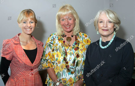 Kate Mosse, Carol Thatcher and Lucia Van Der Post