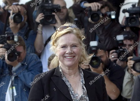 Stock Photo of Norwegian Actress Liv Ullman Waves As She Arrives at the 55th Edition of San Sebastian's International Film Festival in San Sebastian Spain 26 September 2007 the Festival Lasts Until 29 September Spain San Sebastian