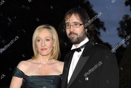 Stock Photo of JK Rowling and husband Dr Neil Murray