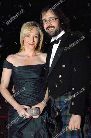 Stock Picture of JK Rowling and husband Dr Neil Murray