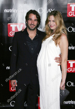 Stock Image of Anne Dudek and husband Matthew Heller