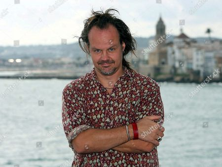Us Film Maker Larry Fessenden Poses For the Press at the Sitges International Film Festival where He Presented His Latest Movie 'The Last Winter' in Sitges Spain 05 October 2007 the 40th Edition of the Festival Lasts Until 14 October Spain Sitges