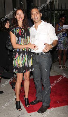 Jill Hennessey and Paolo Mastropietro