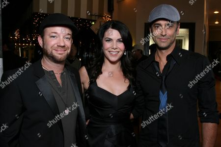 Sam Pancake, Lauren Graham and Richard Smith