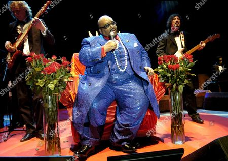Us Soul Legendary Music Solomon Burke Performs in a Concert at Zaragoza's Bullring As Part of 'Nights with Sun' Festival in Zaragoza Northeast Spain 27 July 2007 Spain Zaragoza
