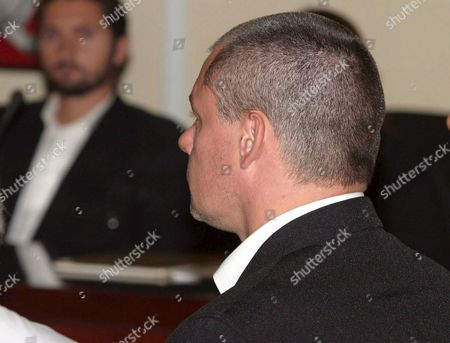 British Suspect Tony King (r) Sitting in the Dock on the Second Day of His Murder Trial in Malaga Southern Spain Tuesday 18 October 2005 Spanish Police Arrested King in 2003 After Being Suspected of Murdering 17-year-old Sonia Carabantes King is Also Suspected of the 1999 Killing of 19-year-old Rocio Wanninkhof Near the Costa Del Sol Resort of Marbella Spain Malaga