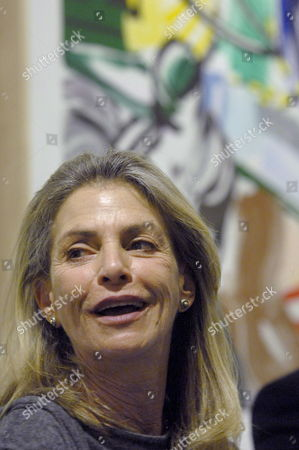 Dorothy Lichtenstein Wodow of the Us Artist Roy Lichtenstein Smiles During the Inauguration of the Exhibition 'Roy Lichtenstein: From Beginning to End' Inaugurated on Friday 02 February 2007 in Madrid Spain Spain Madrid