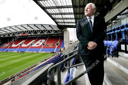 David Whelan - Wigan football club Chairman at the JJB Stadium