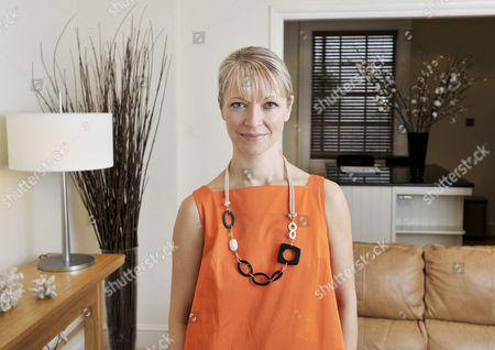 Editorial photo of Naomi Cleaver at home in London, Britain - 01 Aug 2008