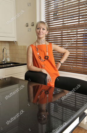 Editorial image of Naomi Cleaver at home in London, Britain - 01 Aug 2008