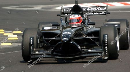 Stock Photo of New Zealand Team Pilot Johnny Reid in Action Before Winning Sixth Place in the Classificatory Test For Sunday's Eight Round at the Mexico City's Autodromo Hermanos Rodriquez Circuit of the A1 Gp Race World Cup Mexico City Mexico 15 March 2008 Twenty-two Countries Will Participate; Switzerland is Leading with 118 Points Mexico Mexico City
