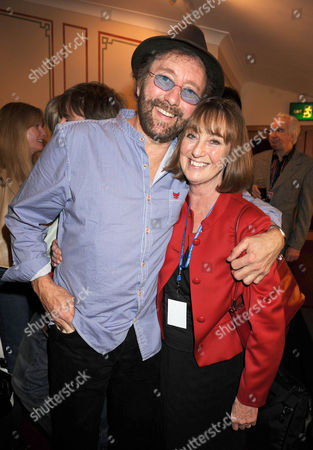 Chas and Dave -  David Peacock  and wife Sue