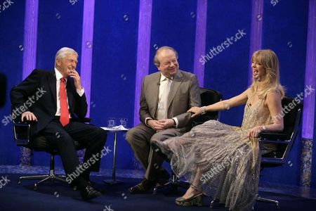 Michael Parkinson with his guests John Sergeant and Goldie Hawn.