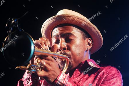 Us Trumpeter Roy Hargrove Performs As He Presents His Lastest Work 'The Rh Factor: Hard Groove' at Jazz Festival Late Night Tuesday 13 July 2004 in Almunecar Granada Southern Spain Spain Almu±ecar (granada)