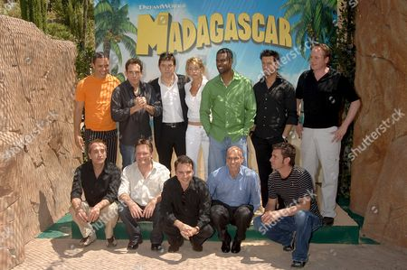 Editorial photo of Spain - Madagascar's Cartoon Film - Jun 2005