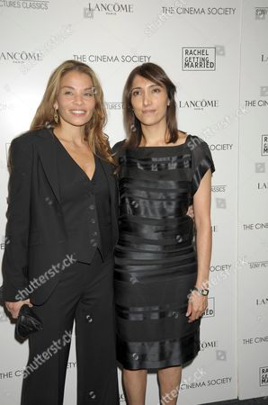 Stock Image of Writer Jenny Lumet and Producer Neda Armian