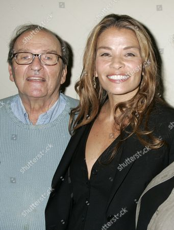 Stock Picture of Sidney Lumet and daughter Jenny Lumet, writer
