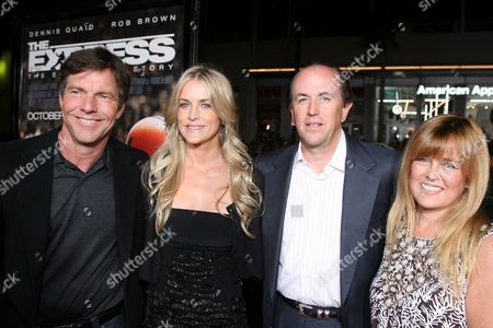 Dennis Quaid, Kimberly Buffington, producer John Davis and wife