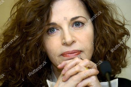 Italian Actress Anna Galiena During the Press Conference on Monday 8 May 2006 in Vitoria to Present Her Latest Film 'Oltre Il Confine' at the Neff European Film Festival Spain Vitoria