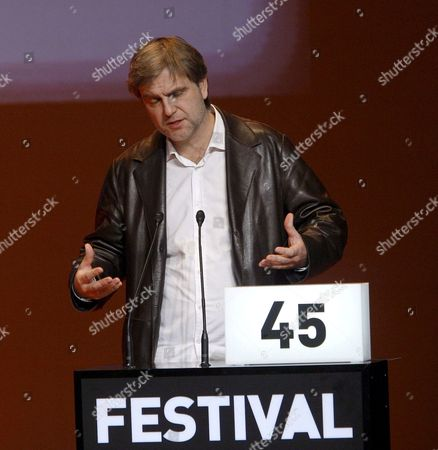 Danish Film-maker Ole Bornedal Speaks During the Opening Ceremony of the 45th Gijon International Film Festival in Gijon Northern Spain 22 November 2007 This Years Festival Pay a Tribute to English Film-maker Pawel Pawlikovski with a Retrospective Screening Spain Gijon