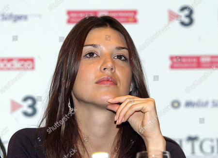Czech Actress Barbara Nedeljakova During the Presentation of Us Director Eli Roth's Film 'Hostel' Which Competes at the Sitges Film Festival Thursday 13 October 2005 in Sitges Province of Barcelona Northeast of Spain Spain Sitges