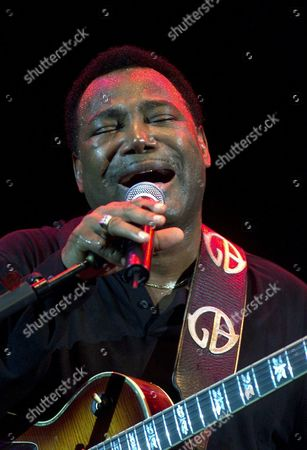 Us Composer and Singer Georges Benson Performs in La Laguna Tenerife Island Spain on Tuesday 29 July 2003 the Concert was Attended by Some 50 000 People Epa Photo/efe/ramon De La Rocha Spain La Laguna (tenerife)