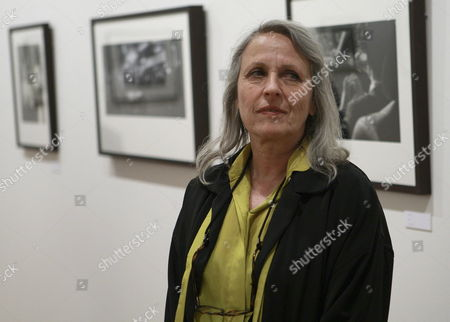 Us Photographer Sylvia Plachy Poses For Photographers As She Presents Her Photo Exhibition at the Fine Arts Centre in Madrid Spain 30 May 2007 As Part of the Spanish Photo Fair 'Photoespana 2007' Spain Madrid