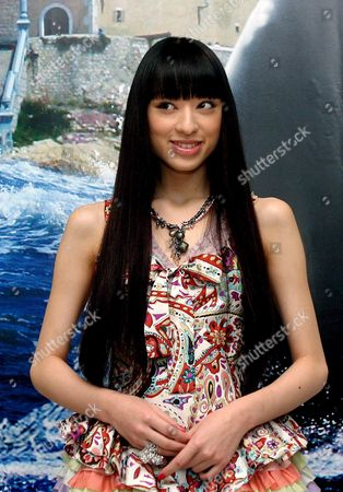 Japanese Actress Chiaki Kuriyama Known For Her Character Yubari in Tarantino?s Kill Bill 2 Poses During the Presentation of Her Latest Film 'The Great Yokai War' on Tuesday 11 October 2005 at the Sitges Film Festival in Barcelona Spain Stiges (barcelona)