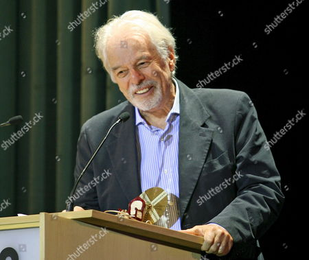 Mexican Writer and Director Alejandro Jodorowsky Delivers a Speech After Receiving the Machine Time Award on Thursday 12 October 2006 During the Sitges International Film Festival in Sitges Barcelona North Eastern Spain Spain Sitges