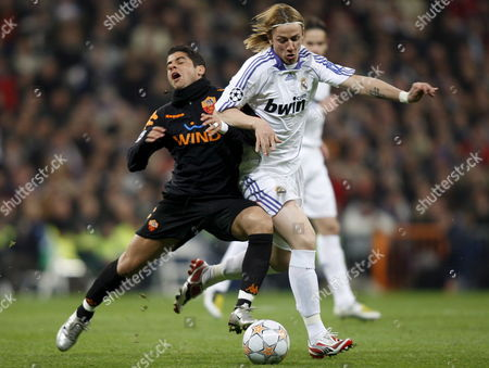 Editorial photo of Spain Soccer Champions League - Mar 2008
