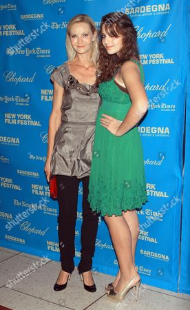 Joan Allen and Sadie Friedman