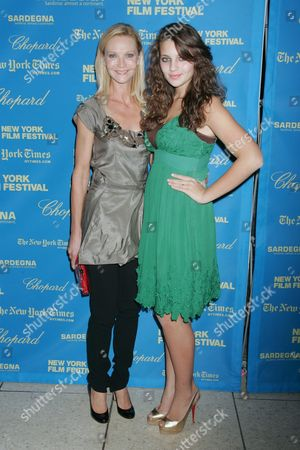 Stock Photo of Joan Allen and daughter Sadie Friedman